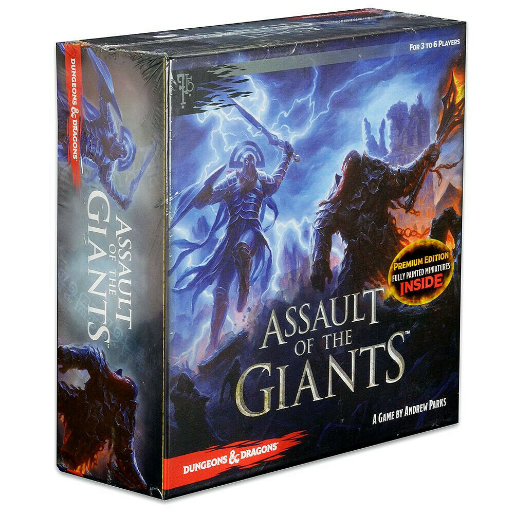 Assault of Giants Dungeons & Dragons Premium Edition Board Game English