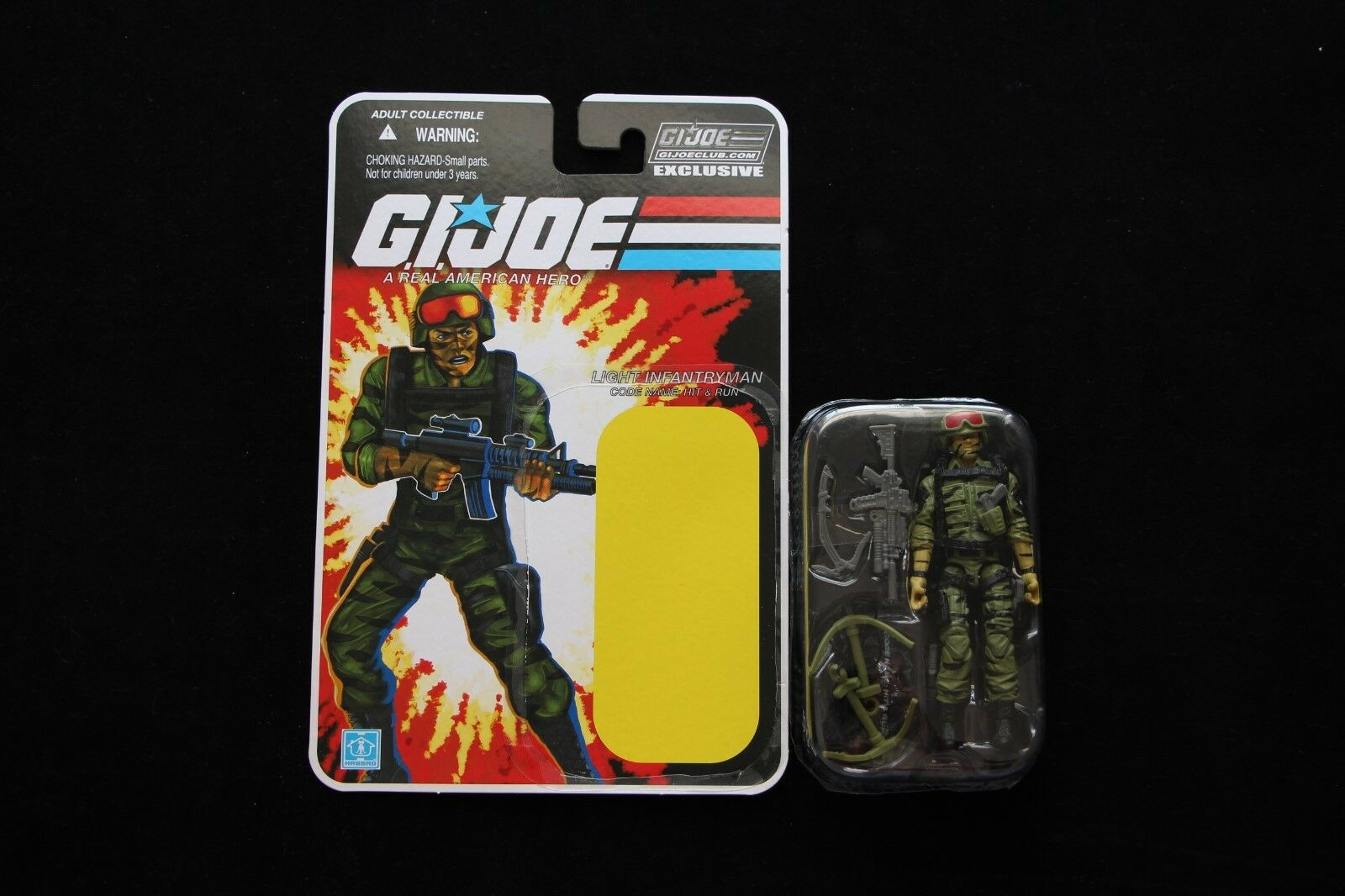 GI Joe 2015 Collector's Club FSS 3.0 Hit & Run Infantryman Figure New Complete
