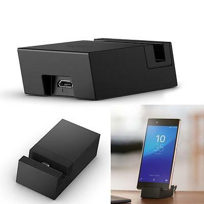 DK52 Micro USB Desktop Cradle Dock Charger Charging For Sony Xperia Z3+ and Z4