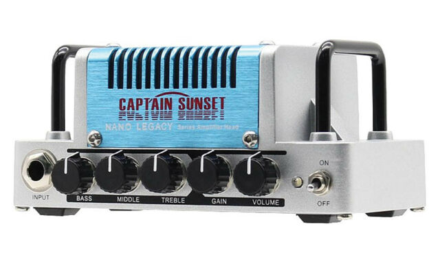 Hotone Nano Legacy Captain Sunset 5W Class AB Guitar Amplifier Head 888506020094