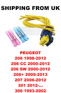 FUEL PUMP CABLES PLUG REPAIR KIT  PEUGEOT 206 CC SW 206 207 301 306  8201348602 - Inverness, United Kingdom - All items we offer are brand-new and suitable to listed cars*. You are free to return the product to us within 30 calendar days of delivery. To do so you need to let us know within 30 calendar days that you like to return the p - Inverness, United Kingdom