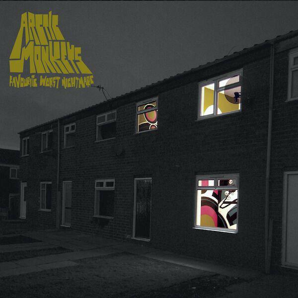 Arctic Monkeys Favourite Worst Nightmare Vinile Lp Nuovo Sigillato