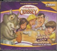 Adventures In Odyssey On Earth As It Is In Heaven 17 4 Cd Kids Audio Set