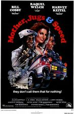 MOTHER JUGS AND SPEED Movie POSTER 27x40 B Bill Cosby Raquel Welch Harvey Keitel