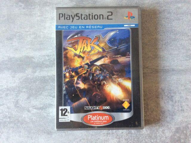 PS2 Jak X Platinum PLAYSTATION 2 SONY PAL FR COMPLET