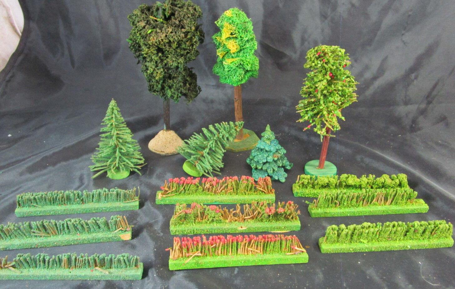 Kon.Bäume Tannenbaum Laubbaum Wald Dorf Erzgebirge Weihnachten Berg Modellbahn c  | Spielzeugwelt, fröhlicher Ozean