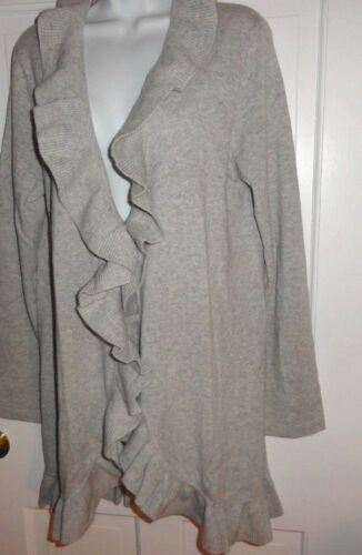 Cardigan 889069406219 Lilly Foggy Xl Pulitzer Grey Shere Sweater Cashmere Nwt Heathered TPUxxq