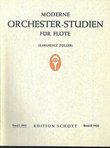 Karlheinz-Zoeller-Moderne-Orchester-Studien-fuer-Floete-Band-1