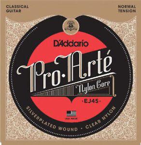 D-039-Addario-Classical-Guitar-Strings-EJ45-ProArte-Normal-String-Set-DADDARIO-EJ-45