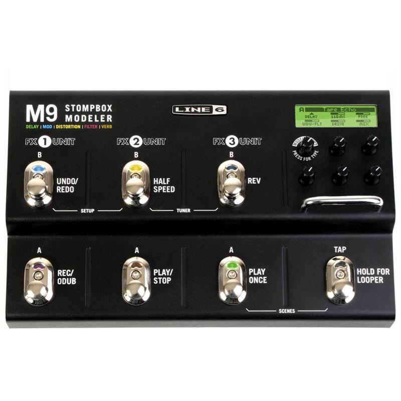Line6 M9 Stompbox Modeller Guitar Effects Pedal **BRAND NEW**
