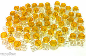 PACK OF 30 8A 2 WIRE TELEPHONE JELLY CRIMPS BT VIRGIN TELECOM CONNECTOR JOINER