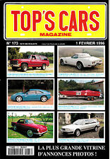 TOP'S CARS MAGAZINE.1996.RENAULT FLORIDE 1960.VENTURI 260 LM. DODGE W200. WILLYS