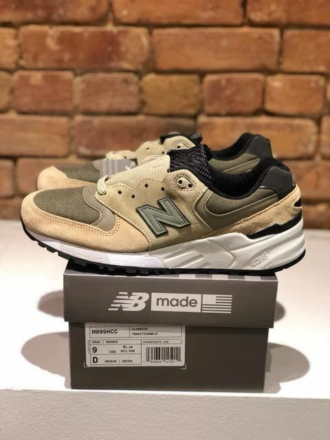 NEW BALANCE SHOES M999HCC MADE IN THE USA WIDTH D