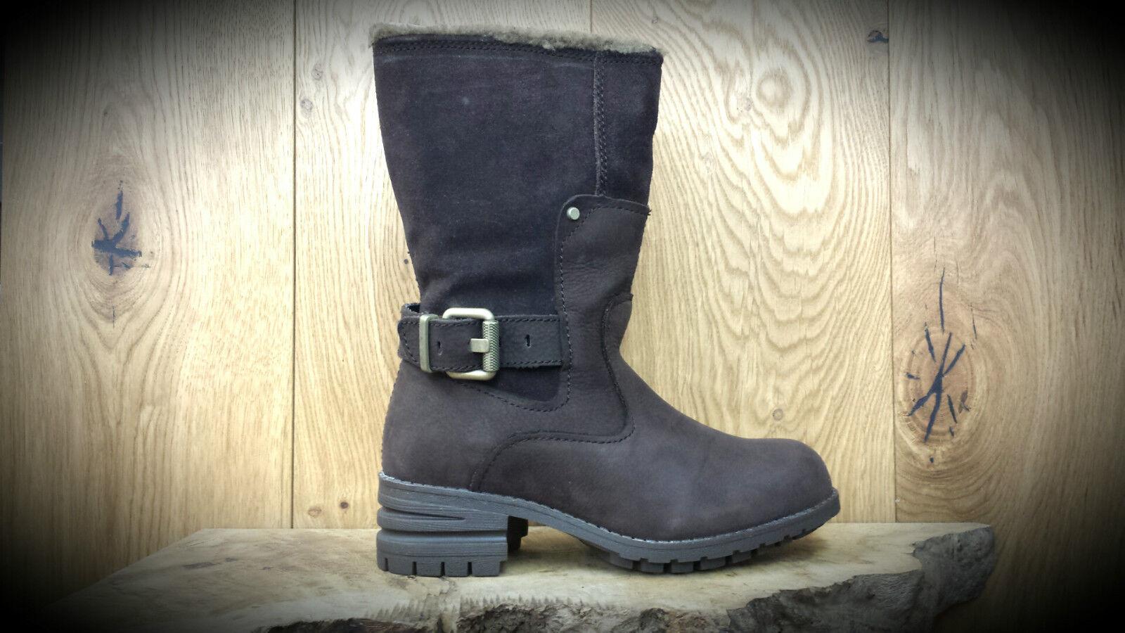Grandes zapatos con descuento CAT // Caterpillar // Randi // Brown Calf Winter Boots // REDUCED Was 125.00