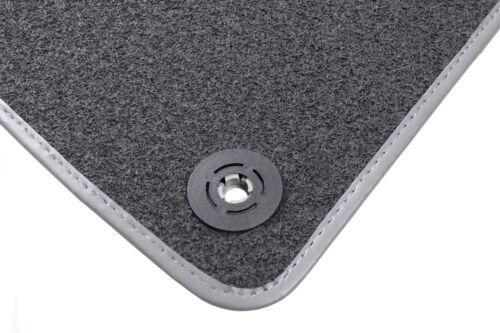 2006-2015 Skoda Roomster GRAU Fußmatten Autoteppiche Bj