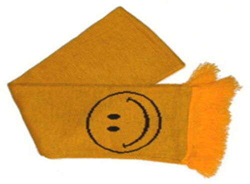 Smiley Scarf 5ft Made in the U.K By Mrs Barrett 100/% Acrylic