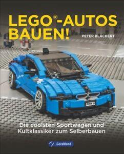 Lego Autos Auto bauen Modelle Fahrzeuge Anleitung Bauanleitung Buch Sportwagen