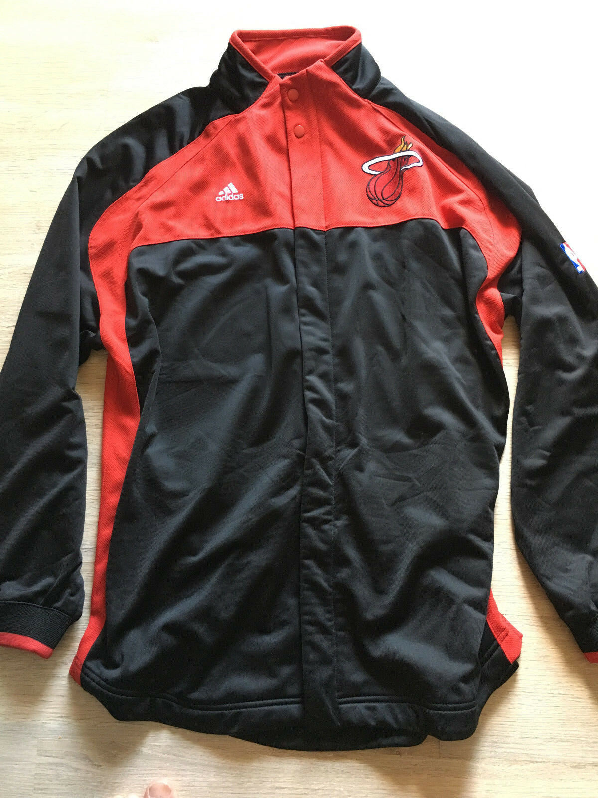 Adidas NBA Miami Heat Wade Trainingsanzug Trainingshose Trainingsjacke wie NEU L