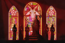 "Ghost B.C. Black Death Dark Satanic Occult Music Bands Poster Silk 12""x18"" Print"
