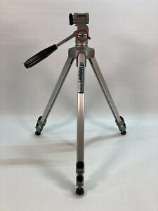 "Velbon Professional Aluminum Adjustable Tripod 22""-60"" Camera Video Photo VE-3C"