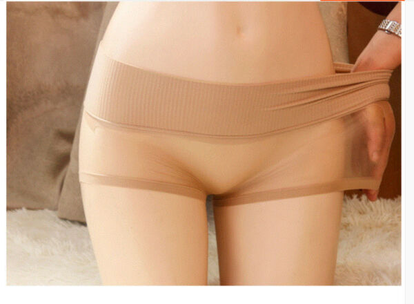 Sexy Damen Nylons Boxershorts Nahtlose Strumpfhose Shorts Unterhose Unterwäsche