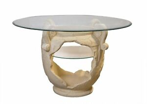 Runder-Esszimmertisch-Amphorentisch-Vasentisch-Roemertisch-Versa-Serie-Glastisch