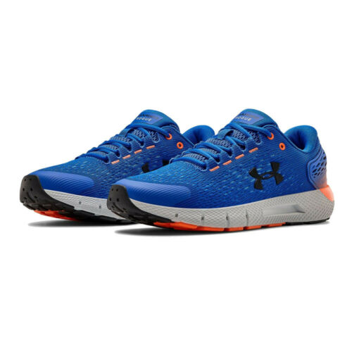 Blue Sports Under Armour Mens Charged Rogue 2 Running Shoes Trainers Sneakers