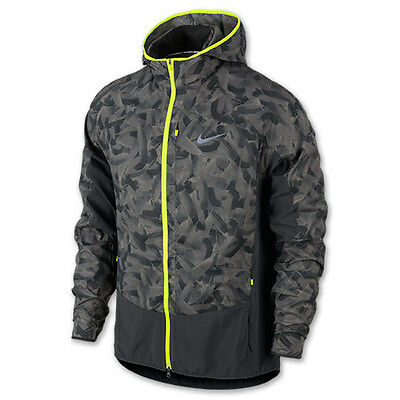 $150 NWT Men/'s Nike Printed Trail Kiger Hoodie Jacket Windbreaker KO 651234-010