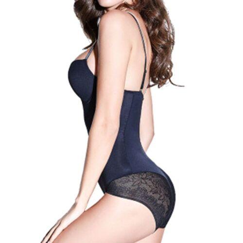 Women Full Body Shaper Underbust Body Control Slimming BodySuit Firm Shapewear