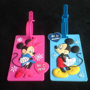 Mickey-amp-Minnie-Travel-Suitcase-Bags-Luggage-School-Tags-Kids-Name-Labels