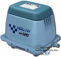 Hiblow Hp-120ll Septic Tank Air Pump Aerator