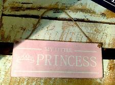 004 MY LITTLE PRINCESS plaque /  Bedroom door wall sign