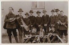 GITARRE MANDOLINE WANDERVOGEL Men WANDERER MANDOLIN GUITAR * Foto-AK um 1910