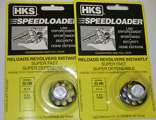 2 Pack HKS 22-HR Speed Loader 22 LR H&R 9 Shot, Taurus 94