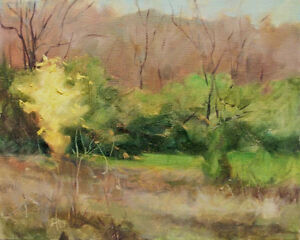 Yellow-Tree-Fall-original-oil-painting-by-Margaret-Aycock-Realism-Impressionist