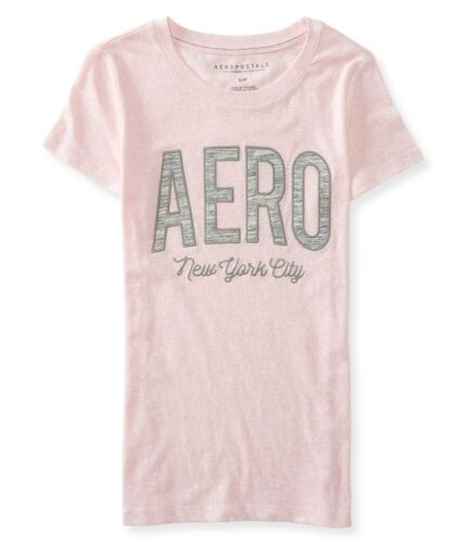 Aeropostale Womens Logo New York Embellished T-Shirt