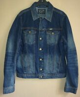 Genuine Diesel Men's Elshar-e Denim Jacket, Blue Large, Without Tag