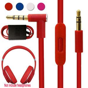 Portable-For-Beats-Audio-AUX-3-5mm-Cable-Cord-Solo-HD-Studio-Remote-Talk