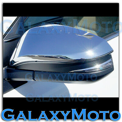 4 Door Handle+No PSG Keyhol Cover 06-12 Toyota RAV4 Chrome Mirror w//turn Signal