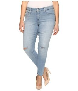 Cotton 190416109852 Jeans Blue New Shaping Levi's Super 310 Blend 18w Plus Slim Women Skinny RYOxBwqI