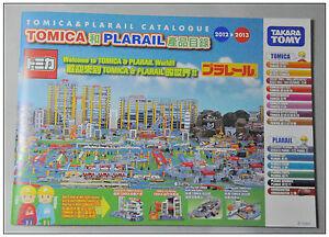 Tomica-amp-Plarail-2012-2013-Catalogue-English-Chinese-version-NEW-Takara-Tomy