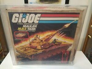 Box Only Vintage GI JOE 1985 MBT Mauler Tank Original Lot