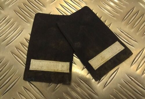 Genuine British Fire Rescue Service Leading Firefighter LFF Epaulettes Marked