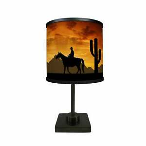 Western-Cowboys-More-Than-A-Lamp-Framed-Art-Comes-Down-From