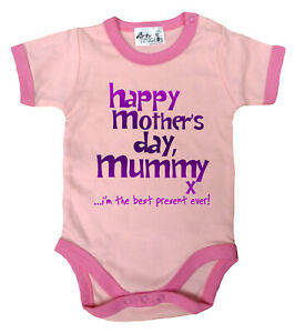 Dirty-Fingers-Happy-Mother-039-s-Day-Mummy-x-Baby-Girl-Bodysuit-contrast-trim