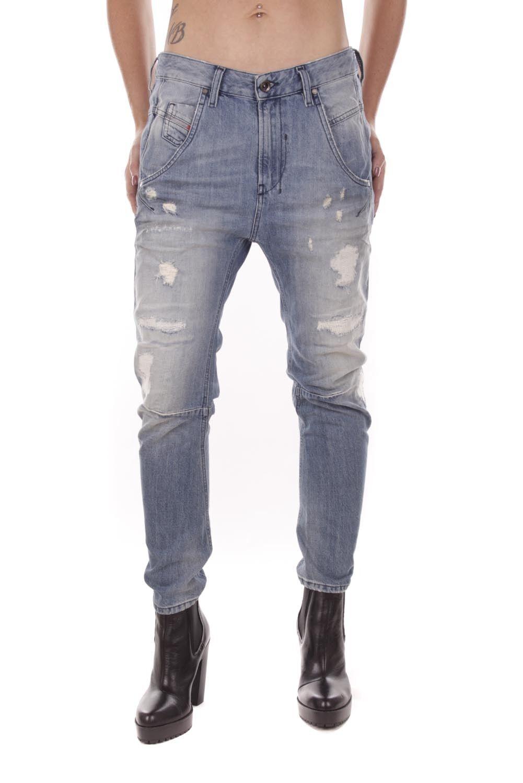 Diesel Fayza 0859V Damen Jeans Hose Boyfriend