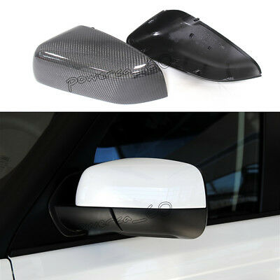 Silver Mirror COVERS top for Land Rover Discovery 4 Facelift 2014 wing cap noble