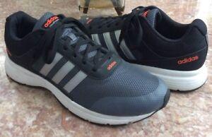 premium selection 28c59 c91ae Image is loading Adidas-Cloudfoam-Vs-City-MenS-Gray-Black-Atlethic-