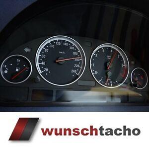 Tachoscheibe-f-BMW-E38-E39-E53-E60-Style-250-Kmh-fuer-Diesel