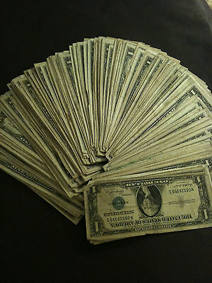 ✯1935 1957 Washington Dollars ✯$1 Silver Certificate Currency✯ Old Estate Money✯